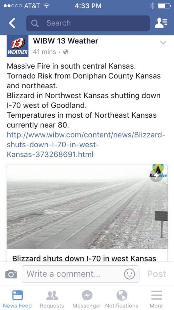 Kansas at its finest!