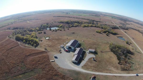 Scattered Acres from the sky!